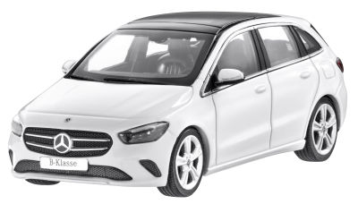 Модель Mercedes-Benz B-Class, W247, Polar White, Scale 1:43