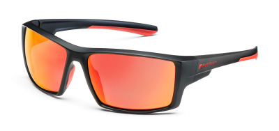 Солнцезащитные очки Audi Sport Sunglasses Mirror Lens, black/red