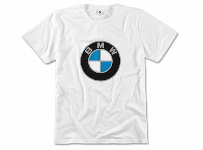 Футболка унисекс BMW T-shirt, Color Logo, Unisex, White