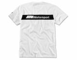 Мужская футболка BMW Motorsport Graphic T-Shirt, M8 GTE, Men, White, артикул 80142461096