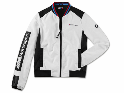 Женская куртка BMW M Motorsport Jacket, Colour Block Design, Ladies, White / Black