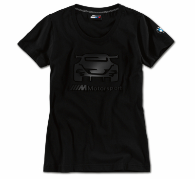 Женская футболка BMW M8 GTE Motorsport T-Shirt, Ladies, Black