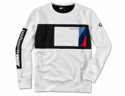 Мужской свитер BMW M Motorsport Sweater Blocking Design, Men, Black/White