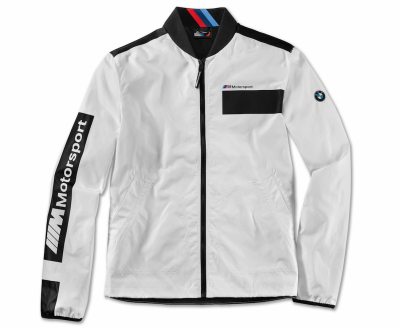 Мужская куртка BMW M Motorsport Jacket, Colour Block Design, Men, White / Black