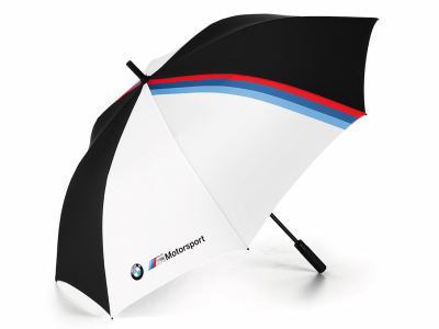 Зонт-трость BMW M Motorsport Umbrella, Black/White