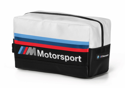 Дорожный несессер BMW M Motorsport Personal Care Bag, Black/White