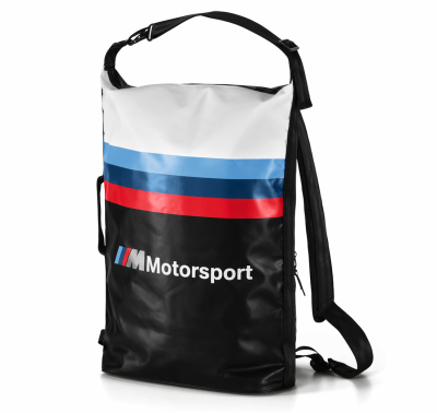 Рюкзак BMW M Motorsport Rucksack, White/Black