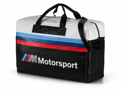 Дорожная сумка BMW M Motorsport Travel Bag, Black/White