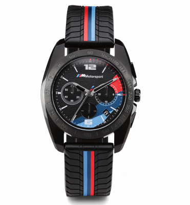 Мужской хронограф BMW M Motorsport Chrono Watch, Men, Black
