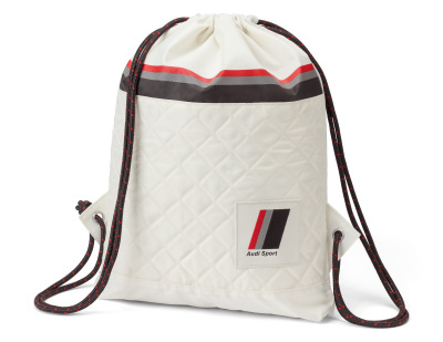 Сумка-рюкзак Audi Heritage Draw String Bag, offwhite