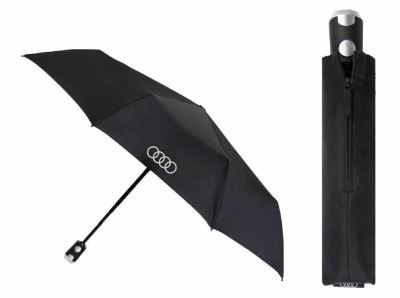 Складной зонт Audi Pocket Umbrella, Knirps, Black