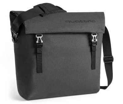 Наплечная сумка Audi quattro Shoulder Bag, Dark Grey
