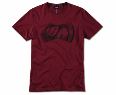Мужская футболка BMW M Logo T-Shirt, Men, Burgundy