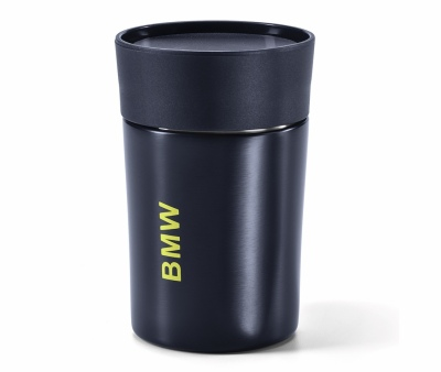 Термокружка BMW Active Thermal Mug, Blue Nights / Wild Lime