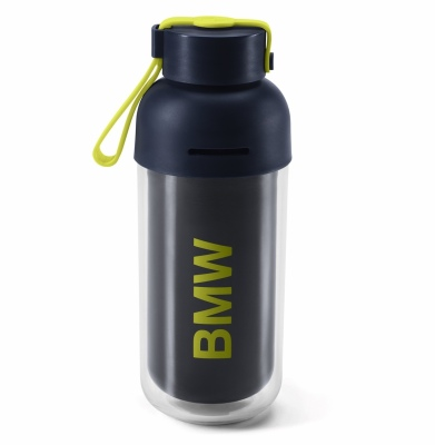 Бутылочка для воды BMW Active Drinks Bottle, Blue Nights / Wild Lime