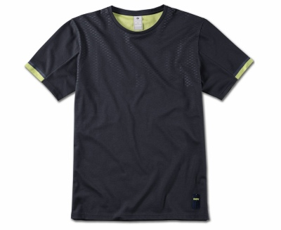 Мужская футболка BMW Active T-Shirt, Men, Blue Nights / Wild Lime