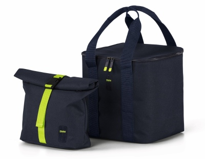 Набор термосумок BMW Active Cool Bag Set, Blue Nights / Wild Lime