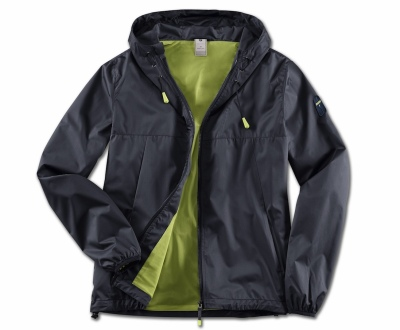 Мужская куртка BMW Active Jacket, Men, Blue Nights / Wild Lime