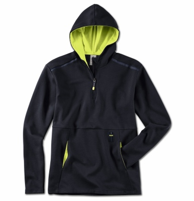 Мужская толстовка BMW Active Sweatshirt, Men, Blue Nights / Wild Lime
