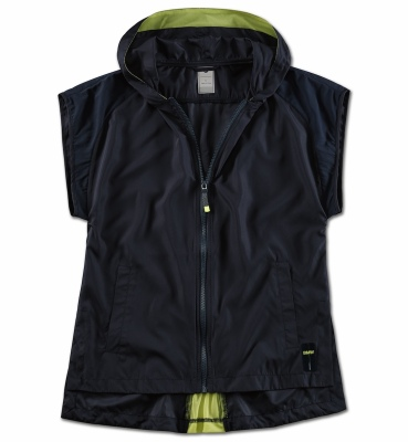 Женский жилет BMW Active Gilet, Ladies, Blue Nights / Wild Lime