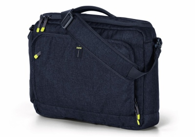 Наплечная сумка BMW Active Messenger Bag, Blue Nights / Wild Lime