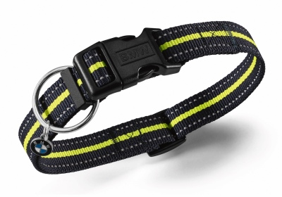 Ошейник для собаки BMW Active Dog Collar, Blue Nights / Wild Lime