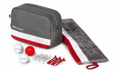 Подарочный набор BMW Golfsport Gift Set, Grey/White/Red