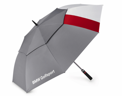 Зонт-трость BMW Golfsport Umbrella, Grey/White/Red