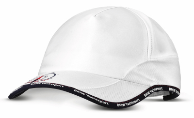 Бейсболка BMW Yachtsport Cap, Unisex, White/Black