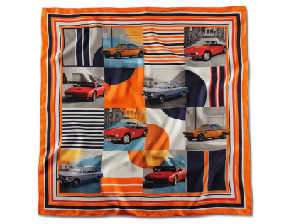 Шелковый платок BMW Classic Silk Scarf, Orange