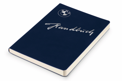 Записная книжка BMW Classic Notebook, DIN A5, Blue