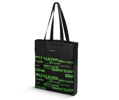 Сумка для покупок Skoda Packable Shopping Bag, Black