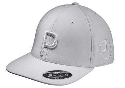 Бейсболка Mercedes Golf Cap, Flat Brim, Grey, by PUMA