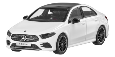 Модель Mercedes A-Class Saloon, Scale 1:43, Polar White
