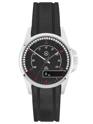 Наручные часы Mercedes-Benz Men's Watch, Trucks, Black / Silver
