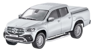 Масштабная модель Mercedes X-Class, Diamond Silver, Scale 1:43