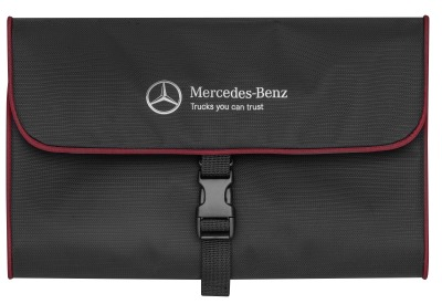 Дорожный несессер Mercedes-Benz Washbag Trucker, black / red
