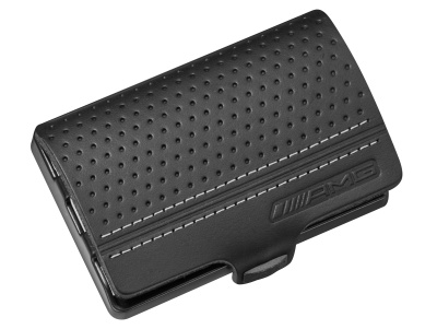 Кожаный кошелек Mercedes-Benz AMG I-CLIP the wallet, black