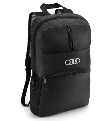 Складной рюкзак Audi Sport Backpack Foldable, Black
