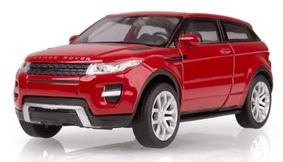 Инерционная модель Range Rover Evoque Pullback, Scale 1:38, Red