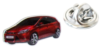 Значок Ford Focus Pin Red