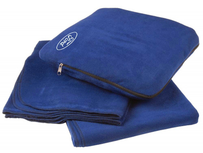 Подушка-плед Ford Plaid and Pillow, two-in-one, Blue