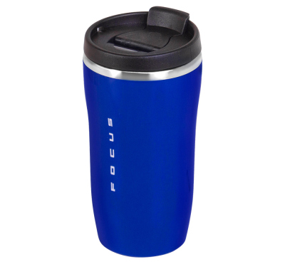 Термокружка Ford Focus Thermo Mug, Blue/Black