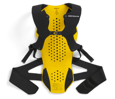 Защита спины BMW Mottorad Back Protector, Black/Yellow