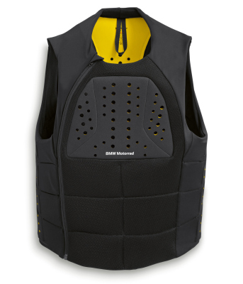 Защитный жилет BMW Mottorad Protector Vest, Black/Yellow