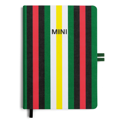 Блокнот MINI Cloth-Bound Notebook, Striped, 60 Years Collection
