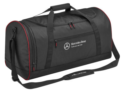 Дорожная сумка Mercedes-Benz Travel Bag Trucker, Black/Red