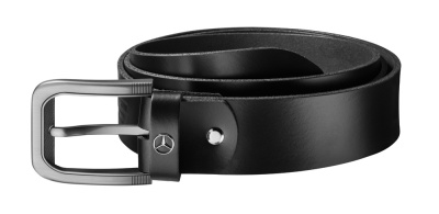 Кожаный ремень Mercedes-Benz Men's Belt, Actros, Black