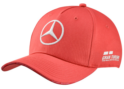 Бейсболка Mercedes F1 Cap, Hamilton, 2019 Great Britain Special Edition, Coral