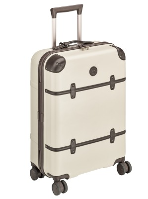 Туристический чемодан Mercedes-Benz Trolley Suitcase, Classic, Beige/Dark brown